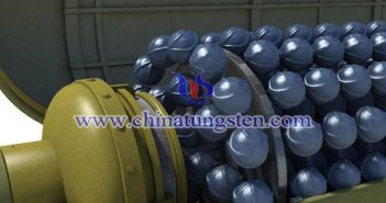 tungsten alloy cluster bomb image