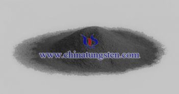 W powder applied for producing tungsten rubber picture