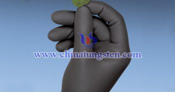 polymer tungsten surgical glove image