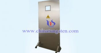 X-ray protective tungsten alloy screen picture