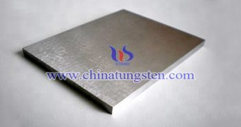 radiation shielding tungsten alloy plate image