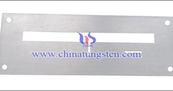 tungsten alloy X-ray shielding part image