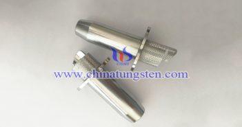 tungsten alloy radiation shielding syringe image