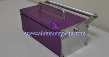 tungsten alloy syringe protective box picture