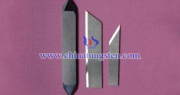 tungsten carbide cutting blade image