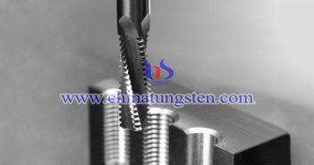 tungsten carbide thread milling cutter image