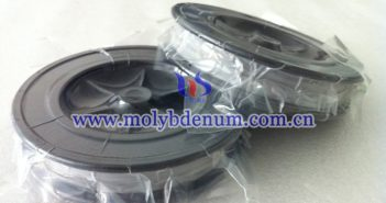 black molybdenum wire picture