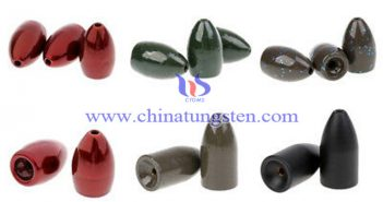 environmental tungsten fishing weight picture