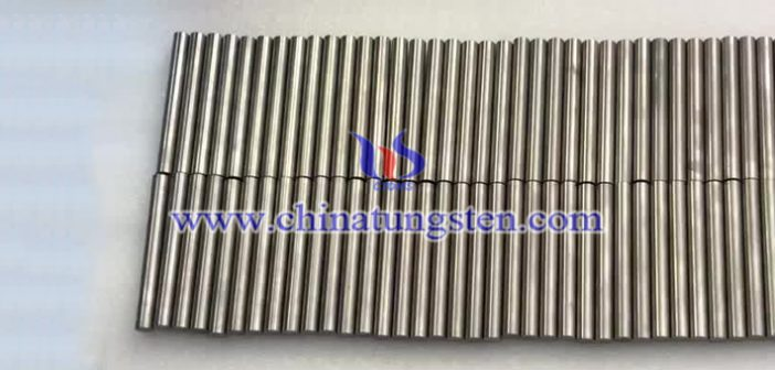 military tungsten alloy swaging rod picture