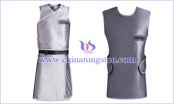 polymer tungsten CT protective clothing picture