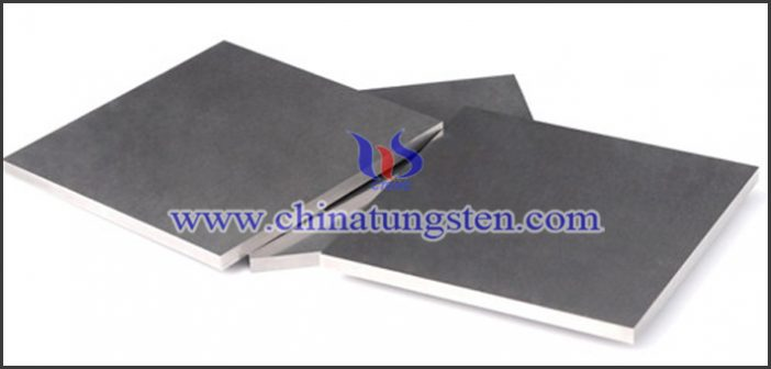 tungsten alloy X-ray protective plate picture