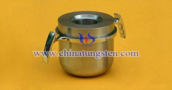 tungsten alloy radiation shielding pot picture