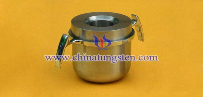 tungsten alloy radiation shielding pot picture