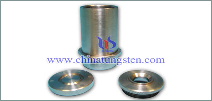 tungsten alloy vial shield with magnetic cap image