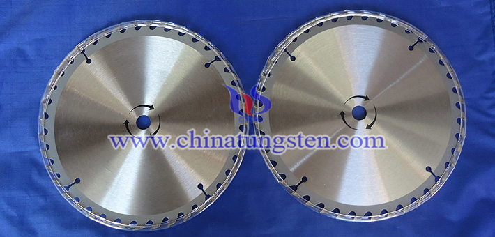tungsten carbide sawtooth blade image