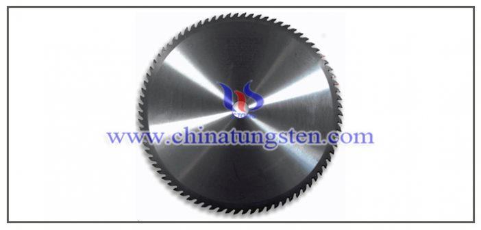 tungsten carbide sawtooth blade picture