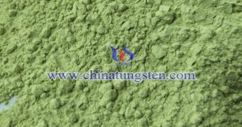 yellow tungsten oxide photocatalytic material picture