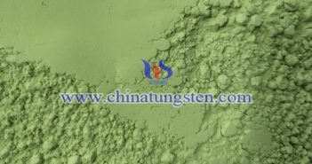 yellow tungsten oxide thermal cloth image
