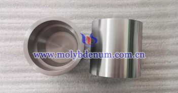 molybdenum straight wall crucible picture
