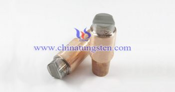 tungsten copper resistance electrode image