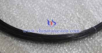 black tungsten wire picture