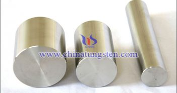 Tungsten Alloy with High Specific Gravity is an alloy with tungsten as the main content and other elements added, which can form various classifications according to the added elements. 1.W-Ni-Cu Alloy W-Ni-Cu alloy is mainly made by mixing, pressing and sintering W, Ni and Cu powders. Among them, W content is generally 80%~90%, and Ni and Cu binders are added to form a two-phase alloy after liquid phase sintering, and the density is close to the theoretical density. In this alloy, except W and Ni, the remaining content is mainly copper, which can improve the strength, plasticity and conductivity of tungsten alloy. In terms of properties, the alloy has no magnetism for special application, and other physical properties are the same as the overall properties of tungsten alloy. 2.W-Ni-Fe Alloy W-Ni-Fe alloy is made by mixing, pressing and sintering W, Ni and Fe powders. Among them, tungsten accounts for 80%~90%, while nickel and iron play the role of binder. Two-phase alloy is formed after liquid phase sintering, and its density is close to theoretical density. Nickel is an essential element in liquid phase sintering process, and its content is generally 0.5%~12%. If it is more than 12%, the heat resistance and corrosion resistance of the alloy will decrease. Iron can improve strength and plasticity in this alloy. This alloy has certain magnetism, and can be used as the core material of armor-piercing projectile, high momentum killing debris such as sub munitions, counterweight and other industrial fields. Compared with W-Ni-Cu alloy, this alloy has better strength and plasticity. 3.W-Ni-Cr Alloy Cr element in W-Ni-Cr alloy is used as solution reinforce additive element in this alloy, which can improve corrosion resistance and high temperature oxidation resistance, and can also improve the high temperature strength and hardness of the alloy. The general content is 0.2%~5%. The hardness of this alloy is high (HV=600, while the hardness of W-Ni- Fe alloy is HV=310). The