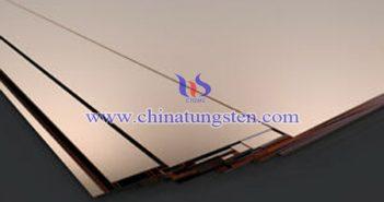 tungsten copper sheet picture