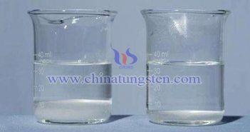 偏钨酸铵溶解于水中图片