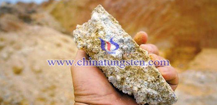 广西平南县大洲发现大型稀土矿