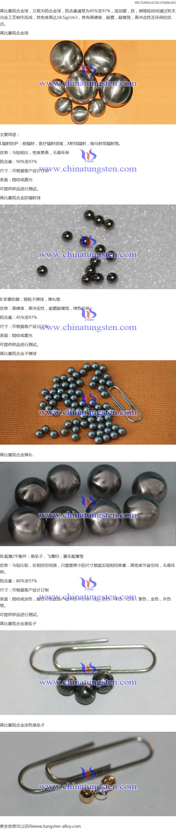 tungsten heavy alloy ball image