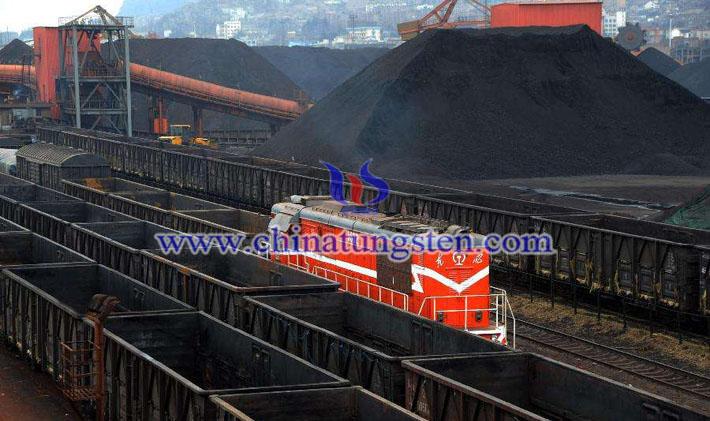 朝鲜煤炭图片