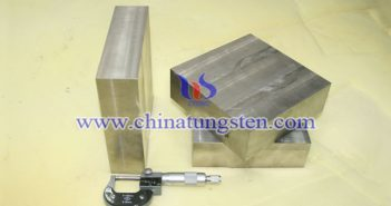 tungsten heavy alloy block (2)