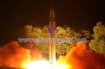 朝鲜洲际弹道导弹试射图片