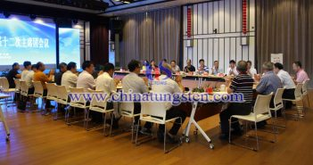 中国钨业协会六届十二次主席团会议图片