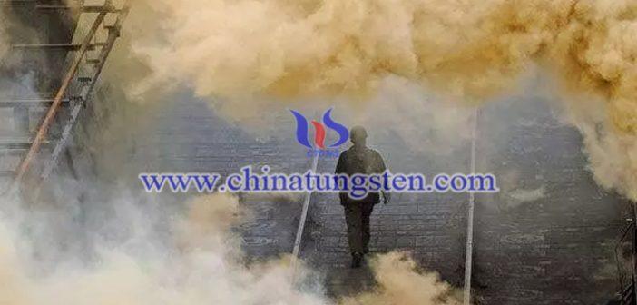 钢铁污染图片