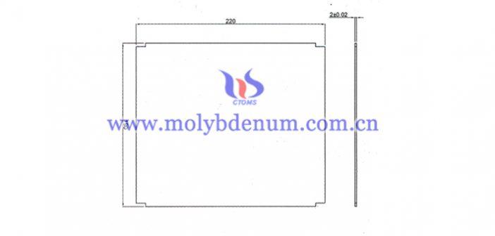 异形TZM板图片