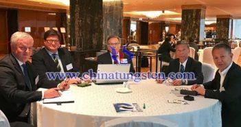 刘良先秘书长一行赴莫斯科参加国际钨协第30届年会图片
