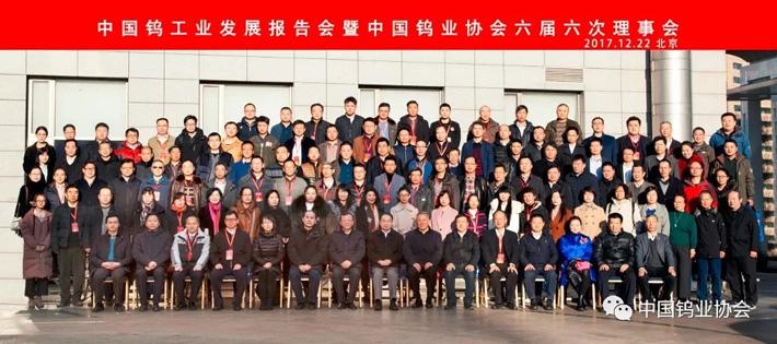 中国钨工业发展报告会暨中国钨业协会六届六次理事会图片