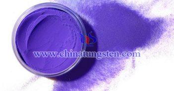 钛掺杂紫色氧化钨