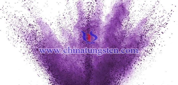 钛掺杂紫色氧化钨图片