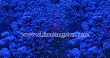 高纯蓝色氧化钨图片