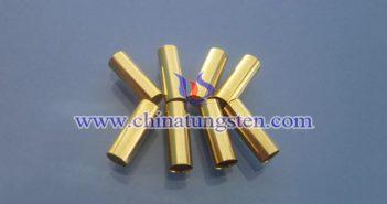 钨合金镀金管图片