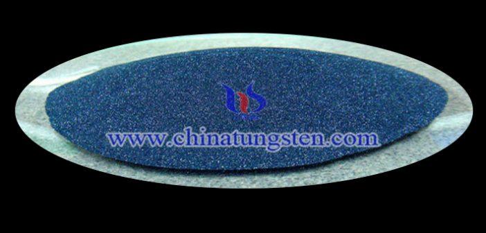 纳米陶瓷色母用蓝色氧化钨粉体图片