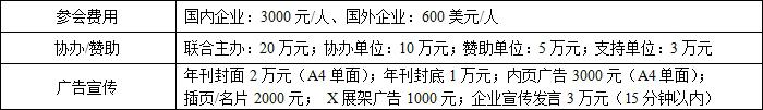 2018年中国钨钼铼产业年会参会费用
