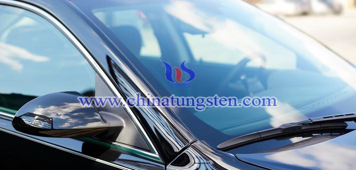隔热车窗玻璃用三氧化钨粉体图片