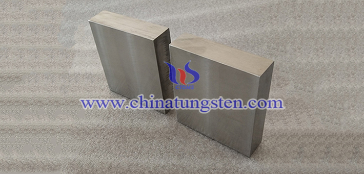 90W-6Ni-4Fe 钨合金块图片