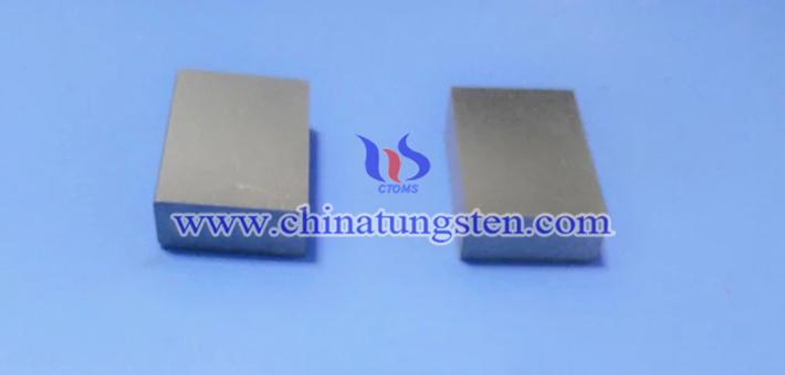 95W-3Ni-2Fe 钨合金块图片