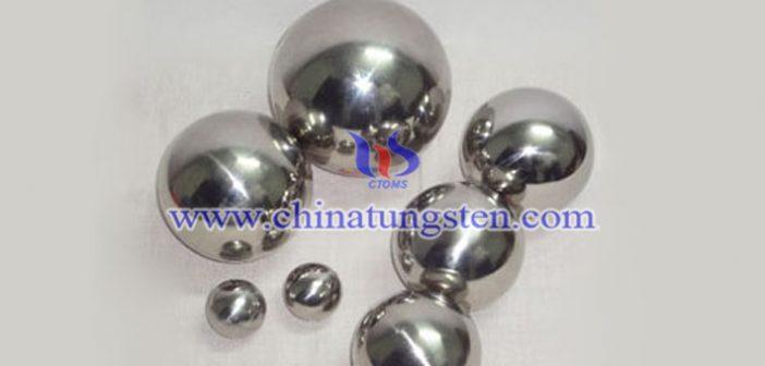 92.5W-5.4Ni-2.1Fe 钨合金球图片