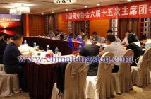 中国钨业协会召开六届十五次主席团会议