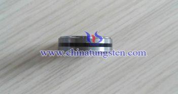 男士碳化钨戒指图片